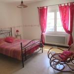 Chambre lit double – gîte Cévennes