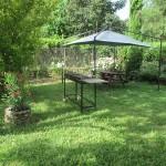 Espace jardin – gîte Gardon