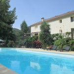"Warmed swimming pool – cottages ""La Filature"""
