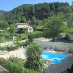 "View from window – cottage ""Cévennes"""