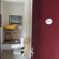 Réfection des toilettes du jardin